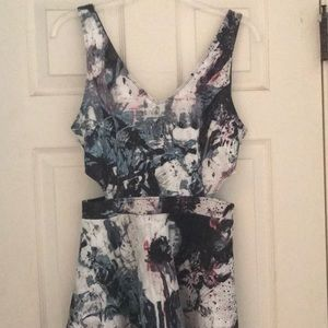 Abercrombie and Fitch cutout dress